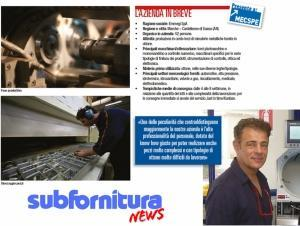 Minuterie metalliche tornite in ottone - Subfornitura news