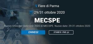 New update for the 2020 edition of MECSPE.